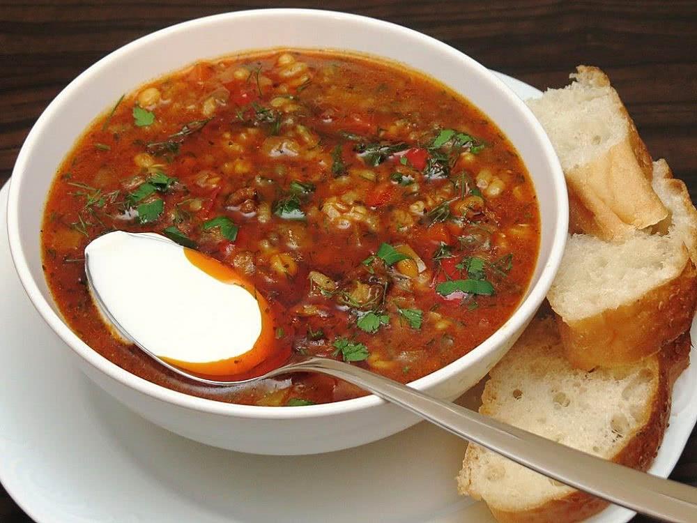 рецепт йогуртового супа с мятой