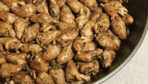Сердечки куриные жареные (фото)