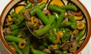 Салат из куриных сердечек средиземноморский