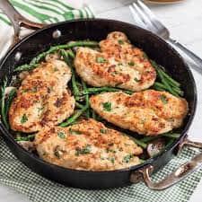 Котлеты куриные, рубленные из филе курицы, с сыром и зеленью