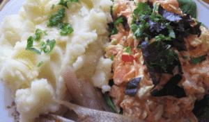 Салат из свежей тыквы с сыром
