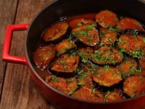 Тещин язык из баклажанов - вкусный салат на зиму