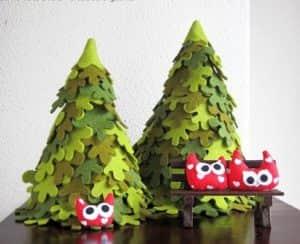 Сшить новогоднюю елку своими руками