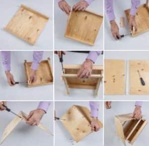 Кормушка из дерева: пошаговая инструкция