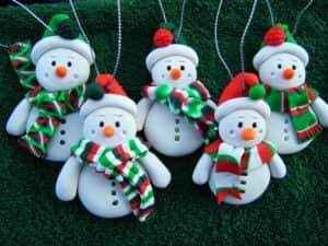 Новогодние игрушки из солёного теста