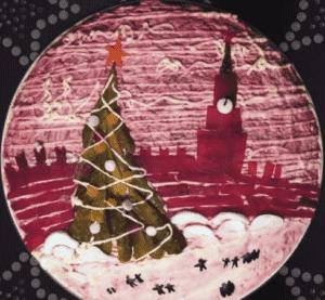 Как украсить селедку под шубой к Новому году