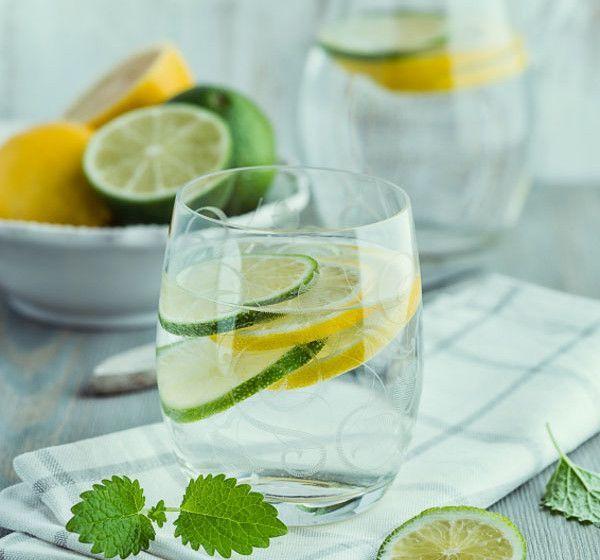 Лимонад Мохито из лимона и мяты